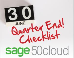 Sage 50 quarter end close checklist, sage 50 quarter end close, sage 50 quarter end, Sage 50 close checklist, Sage 50 close, sage 50 checklist, sage 50, sage software, sage 50 consultant