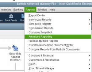 How to run Advanced QuickBooks Custom Reports