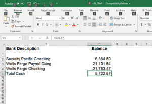 Sage 100 Cash Flow Bank Account Opening Balances How to use Sage 100 Bank Reconcilation