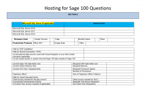 Sage 100 hosting questions - Find Sage 100 hosting providers for Sage 100 hosting. All versions are available for hosting for sage 100 and once we understand how you want to host Accounting Business Solutions by JCS can provide sage 100 hosting price. There are add-ons that can affect the price for sage 100 hosting and the annual sage 100 hosting cost. Discovery the cost for sage 100 hosting called sage hosting and learn how is sage 100 cloud based