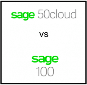 Upgrade Sage 50 to Sage 100 cost Compare features and price find Sage 50 to Sage 100 data migration consultant